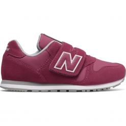New Balance KV373PFY. Czerwone buty sportowe dziewczęce New Balance, na lato, z materiału. Za 249,99 zł.