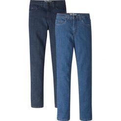 """Odzież dziecięca: Dżinsy Slim Fit (2 szt.) bonprix ciemnoniebieski """"stone"""" + niebieski """"stone"""""""