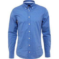 BOSS CASUAL MABSOOT Koszula open blue. Niebieskie koszule męskie na spinki BOSS Casual, l, z bawełny. Za 459,00 zł.