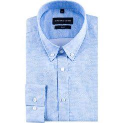 Koszula SIMONE KDNS000416. Czarne koszule męskie na spinki marki TOM TAILOR DENIM, l, z bawełny, button down, z długim rękawem. Za 169,00 zł.