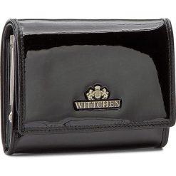 Mały Portfel Damski WITTCHEN - 25-1-070-1 Czarny. Czarne portfele damskie Wittchen, z lakierowanej skóry. Za 349,00 zł.