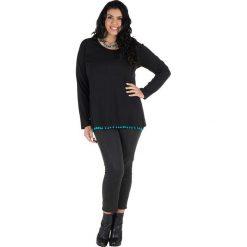 T-shirty damskie: Koszulka w kolorze czarno-niebieskim