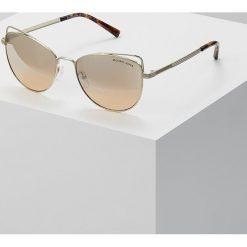 Michael Kors ST. LUCIA Okulary przeciwsłoneczne lite goldcoloured. Żółte okulary przeciwsłoneczne damskie lenonki Michael Kors. Za 669,00 zł.