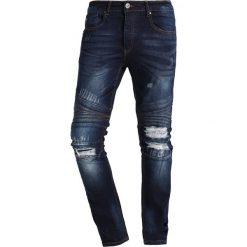 LOYALTY & FAITH TENBY Jeansy Slim Fit dark wash. Niebieskie jeansy męskie marki LOYALTY & FAITH. Za 209,00 zł.