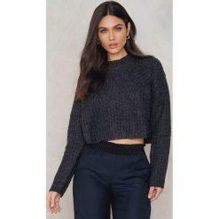 Swetry klasyczne damskie: Native Youth Sweter Neoma - Grey