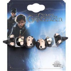 Fantastic Beasts Grindelwalds Verbrechen - Niffler Kolczyki - Earpin wielokolorowy. Szare kolczyki damskie Fantastic Beasts. Za 62,90 zł.