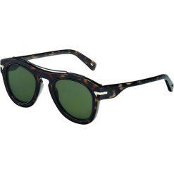 """Okulary przeciwsłoneczne męskie: Okulary przeciwsłoneczne """"26620S BRAZE GARBER 214"""" w kolorze czarno-brązowym"""