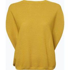 Swetry klasyczne damskie: Someday – Sweter damski – Tulina, żółty