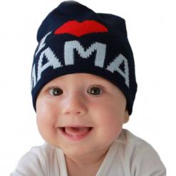Czapka niemowlęca z napisem mama CZ 161F. Różowe czapeczki niemowlęce Proman, z napisami. Za 30,75 zł.