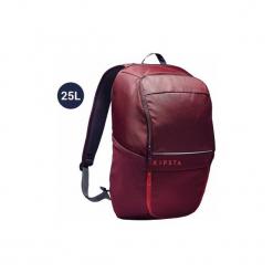 Plecak do sportów zespołowych Classic 25 L. Czerwone plecaki męskie marki KIPSTA, z materiału. Za 49,99 zł.