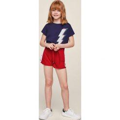 Mango Kids - Szorty dziecięce Light 110-164 cm. Szare spodenki dziewczęce Mango Kids, z bawełny, casualowe. Za 49,90 zł.