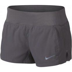 Bermudy damskie: Nike Spodenki Do Biegania Damskie W Nk Eclipse 3in Short, Gunsmoke Xs