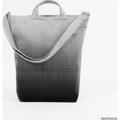 Ekologiczna torba na co dzień Raster. Szare torby na ramię męskie Pakamera, z tkaniny, na ramię, duże. Za 169,00 zł.