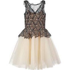 Sukienki hiszpanki: Derhy GARGONNE Sukienka koktajlowa noir/nude
