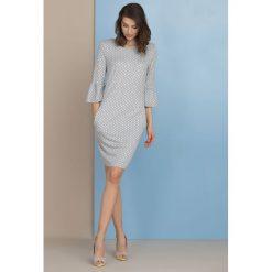 Sukienki: Sukienka w groszki