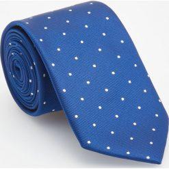 Krawat - Granatowy. Niebieskie krawaty męskie Reserved. Za 49,99 zł.