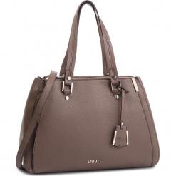 Torebka LIU JO - L Double Zip Satchel N68012 E0033 Ginger 81306. Czarne torebki klasyczne damskie marki Liu Jo, z materiału. Za 689,00 zł.