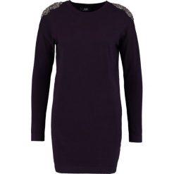 Sukienki: Wallis SHOULDER DRESS Sukienka dzianinowa berry