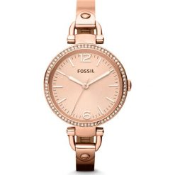 Zegarek FOSSIL - Georgia ES3226  Rose Gold/Rose Gold. Różowe zegarki damskie marki Fossil, szklane. Za 795,00 zł.