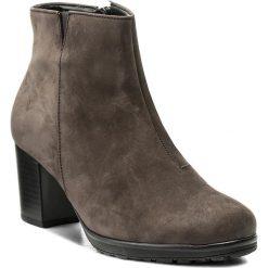 Botki GABOR - 75.540.19 Anthrazit. Szare buty zimowe damskie Gabor, z materiału. W wyprzedaży za 329,00 zł.