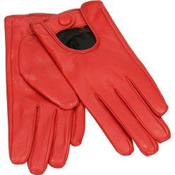 Rękawiczki damskie. Czerwone rękawiczki damskie Gino Rossi, na jesień, ze skóry. Za 199,90 zł.