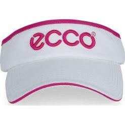 Golfy męskie: ECCO Golf Visor – Biały – 25×18 Cm – Akcesoria