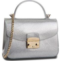 Torebka FURLA - Candy 992810 B BOC3 GGL Color Silver. Szare torebki klasyczne damskie Furla, z tworzywa sztucznego, duże. Za 760,00 zł.