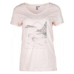 Rip Curl T-Shirt Damski By The Sea S Jasnoróżowy. Niebieskie t-shirty damskie Rip Curl, s, z nadrukiem. Za 84,00 zł.