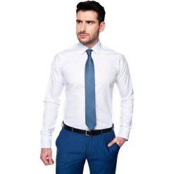 Koszula bexley 2521 długi rękaw custom fit biały. Białe koszule męskie na spinki marki Reserved, l. Za 89,99 zł.
