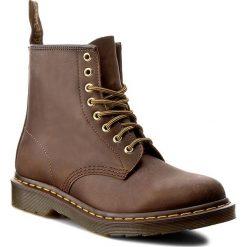Glany DR. MARTENS - 1460 11822200 Aztec Brun Clair. Brązowe buty zimowe damskie Dr. Martens, z materiału. W wyprzedaży za 489,00 zł.