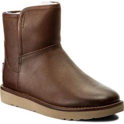 Buty zimowe damskie: Buty UGG - W Abree Mini Leather 1017851 W/Bun