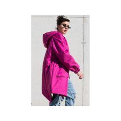 Kurtka ocieplana / płaszcz typu parka fuchsia. Czerwone kurtki damskie przeciwdeszczowe marki Cropp, na zimę, l. Za 369,00 zł.