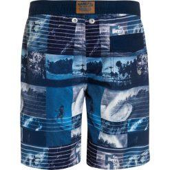 Sanetta SWIM  Szorty kąpielowe urban blue. Niebieskie kąpielówki chłopięce Sanetta, z materiału. Za 149,00 zł.