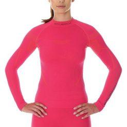 Bluzki sportowe damskie: Brubeck Koszulka damska z długim rękawem Thermo różowa r. S (LS13100)