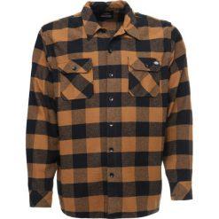 Koszule męskie na spinki: Dickies SACRAMENTO Koszula brown duck