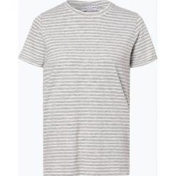 Marie Lund - T-shirt damski, czarny. Czarne t-shirty damskie Marie Lund, l, w paski. Za 59,95 zł.