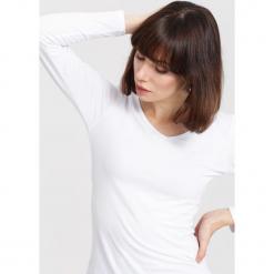 Biała Bluzka Laxity. Białe bluzki asymetryczne other, l, z długim rękawem. Za 24,99 zł.
