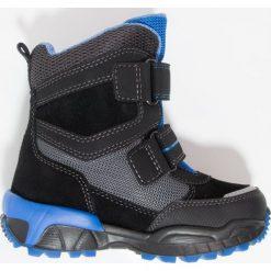 Superfit CULUSUK Śniegowce schwarz. Czarne buty zimowe chłopięce marki Superfit, z materiału. W wyprzedaży za 341,10 zł.