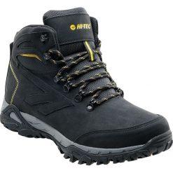 Buty trekkingowe męskie: Hi-Tec Buty męskie trekkingowe wysokie Nedin Mid black/lime r. 45