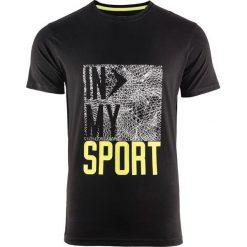 Outhorn Koszulka męska HOZ17-TSM603  czarna r. M (HOZ17-TSM603). Białe koszulki sportowe męskie marki Adidas, l, z jersey, do piłki nożnej. Za 37,90 zł.
