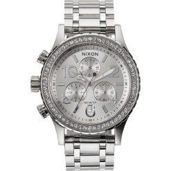 Zegarki damskie: Zegarek damski All Silver Crystal Nixon 38-20 Chrono A4041874