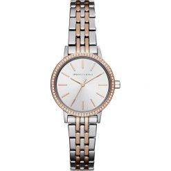 Biżuteria i zegarki damskie: Armani Exchange Zegarek silvercoloured/rosegoldcoloured