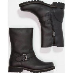 Panama Jack SINGAPUR IGLOO Śniegowce grass. Czarne buty zimowe damskie Panama Jack, z materiału. W wyprzedaży za 601,30 zł.
