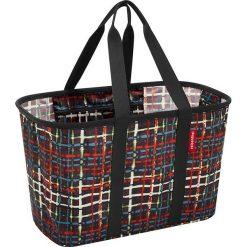 Shopper bag damskie: Torba z kolorowym wzorem na zakupy – 47 x 30 x 29 cm