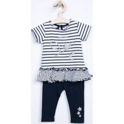 Spodnie dresowe dziewczęce: Blukids – Komplet dziecięcy 68-92 cm