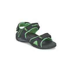 Sandały Dziecko  Kangaroos  INCLAS. Czarne sandały chłopięce KangaROOS. Za 103,20 zł.