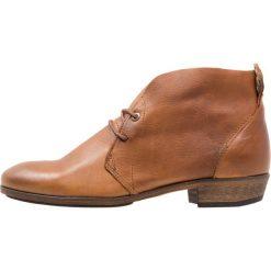 HUB CHUCKIE Ankle boot cognac/nat. Brązowe botki damskie skórzane marki HUB. Za 479,00 zł.