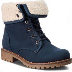 Trapery JENNY FAIRY - WS722-25A Cobalt Blue. Niebieskie buty zimowe damskie Jenny Fairy, z materiału. Za 129,99 zł.