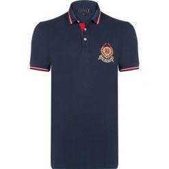"""Koszulki polo: Koszulka polo """"Grain"""" w kolorze granatowym"""
