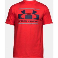 Under Armour Koszulka męska Blocked Sportstyle Logo  czerwona r. XL (1305667-600). Czerwone koszulki sportowe męskie Under Armour, m. Za 95,66 zł.